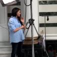 Meghan Markle joue les stylistes pour l'association Smart Works. Les coulisses de sa collection capsule de bienfaisance dévoilés sur Instagram, le 22 août 2019.