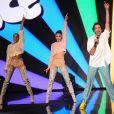 """Exclusif - Mika - Enregistrement de l'émission TV """"La Chanson Secrète 2"""", qui sera diffusée le samedi 14 septembre à 21h05 sur TF1. © Gaffiot-Perusseau / Bestimage"""