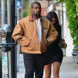 """Kim Kardashian et Kanye West sont allés dîner au restaurant """"Giorgio Baldi"""" à Los Angeles, le 23 mai 2019."""