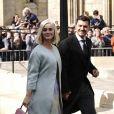 Katy Perry et son fiancé Orlando Bloom - Les invités arrivent au mariage de E. Goulding et C. Jopling en la cathédrale d'York, le 31 août 2019  Celebs seen at the wedding of E. Goulding and C. Jopling at York Minster Cathedral in York, England. 31st august 201931/08/2019 - York