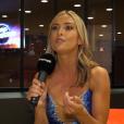 """Inès Vandamme, danseuse de """"Danse avec les stars 2019"""", en interview pour """"Purepeople"""", le 4 septembre"""