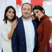 """Leïla Bekhti et Géraldine Nakache, deux """"soeurs"""" invitées chez Michel Drucker"""