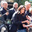 """Leïla Bekhti arrive à l'enregistrement de l'émission """"Vivement Dimanche Prochain"""" au studio Gabriel à Paris, France, le 11 septembre 2019.11/09/2019 - Paris"""