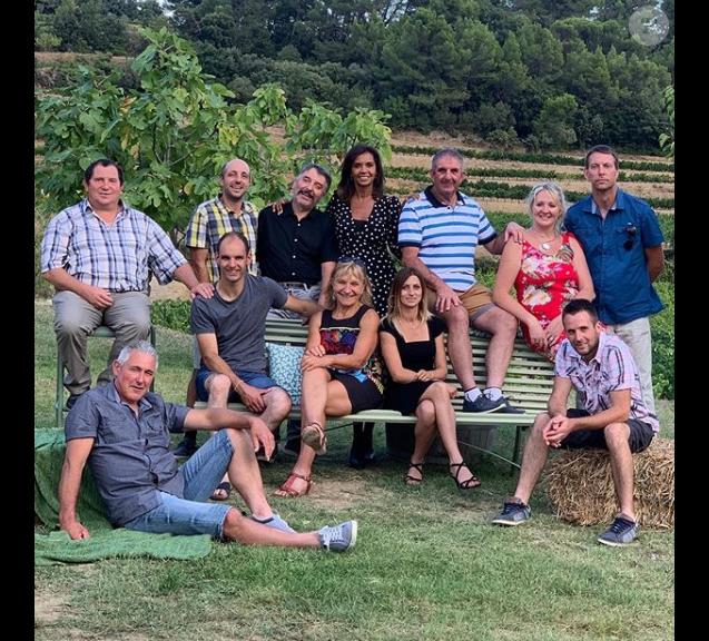 """Photo de tournage du bilan de """"L'amour est dans le pré 2019"""", le 19 septembre, sur Instagram"""
