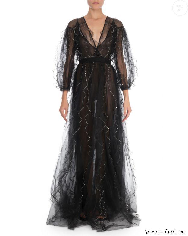 La robe Valentino de Meghan Markle, portée pour le mariage de Misha Nonoo à Rome, le 20 septembre 2019.