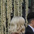 Katy Perry et Orlando Bloom - Mariage de la styliste Misha Nonoo avec  Michael Hess à la Villa Aurelia à Rome, le 20 septembre 2019.