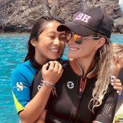 """Jade Hallyday : Photo souvenir de vacances avec son """"âme soeur"""""""