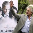 "Michael Douglas, en promotion de ""Beyond a reasonable doubt"""