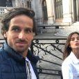 Feliciano Lopez et Sandra Gago à Paris en juin 2019 en marge de Roland-Garros. Photo Instagram.