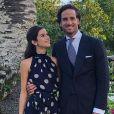 Feliciano Lopez et Sandra Gago lors du mariage d'amis à l'été 2019. Photo Instagram.