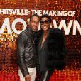 """Lemar et Mica Paris à la première du film """"The Making Of Motown"""" au cinéma Odeon Luxe Leicester Square à Londres, Royaume Uni, le 23 septembre 2019."""