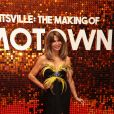 """Lizzie Cundy à la première du film """"The Making Of Motown"""" au cinéma Odeon Luxe Leicester Square à Londres, Royaume Uni, le 23 septembre 2019."""