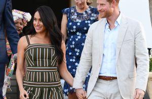 Meghan Markle ressort une robe de grossesse pour une soirée officielle