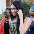 Meghan Markle, duchesse de Sussex, se rend à la résidence de l'ambassadeur à Cape Town, au 2 ème jour de leur visite en Afrique du Sud. Le 24 septembre 2019