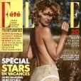 Eva Herzigova en couverture du magazine ELLE datant du 10 juillet 2009