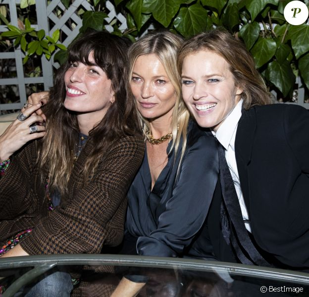 Lou Doillon, Kate Moss et Eva Herzigova au défilé Zadig & Voltaire Collection Prêt-à-Porter Printemps/Eté 2020 lors de la Fashion Week de Paris, France, le 25 septembre 2019. © Olivier Borde/Bestimage