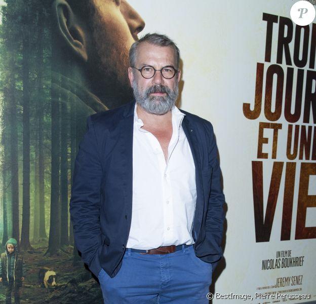 """Philippe Torreton à l'avant-première du film """"Trois Jours Et Une Vie"""" au cinéma UGC Ciné Cité Bercy à Paris, France, le 16 septembre 2019. © Pierre Perusseau/Bestimage"""