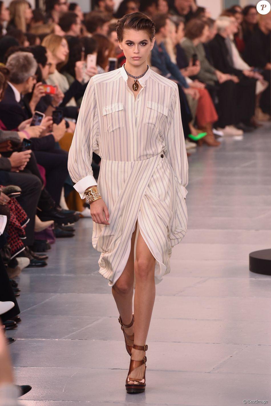 Défilé De Mode Chloé Collection Printemps été 2020 Au Grand Palais à Paris Le 26 Septembre 2019 Purepeople