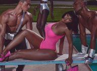 Nicki Minaj : Craquante en rose fluo pour sa première collaboration luxe
