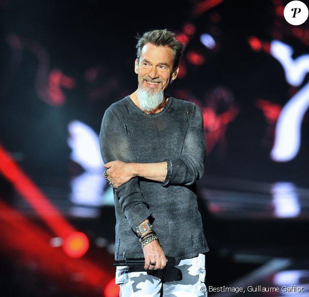 """Exclusif - Florent Pagny lors de l'enregistrement de l'émission """"La Chanson de l'Année 2019"""" aux Arènes de Nîmes, le 16 mai 2019. © Guillaume Gaffiot/Bestimage"""