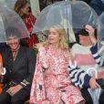 """Lottie Moss assiste au défilé Paul & Joe """"Collection Prêt-à-Porter Printemps/Eté 2020"""" lors de la Fashion Week de Paris (PFW), le 29 septembre 2019. © Veeren Ramsamy - Christophe Clovis / Bestimage"""