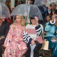 """Thylane Blondeau et Lottie Moss assistent au défilé Paul & Joe """"Collection Prêt-à-Porter Printemps/Eté 2020"""" lors de la Fashion Week de Paris (PFW), le 29 septembre 2019. © Veeren Ramsamy - Christophe Clovis / Bestimage"""