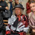 """Thylane Blondeau et James Goldstein assistent au défilé Paul & Joe """"Collection Prêt-à-Porter Printemps/Eté 2020"""" lors de la Fashion Week de Paris (PFW), le 29 septembre 2019. © Veeren Ramsamy - Christophe Clovis / Bestimage"""