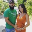 """Anaïs Sanson et son mari Carlos annonce que l'ancienne candidate des """"Princes de l'amour"""" est enceinte de son deuxième enfant, le 7 juillet 2019"""