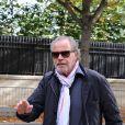 """Michel Leeb - Arrivées et sorties des invités de l'émission """"Vivement Dimanche"""" au studio Gabriel à Paris le 9 septembre 2019."""