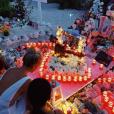 Laeticia Hallyday règle ses comptes sur le caveau familial de Johnny sur l'île de Saint-Barthélémy, le 27 août 2019 sur Instagram.