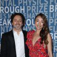 Sergey Brin et Nicole Shanahan à la 6ème cérémonie Breakthrough Prize au NASA Ames Research Center à Mountain View, le 3 décembre 2017.