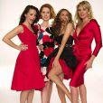 Kristin Davis, Cynthia Nixon, Sarah Jessica Parker et Kim Cattrall dans Sex and the City