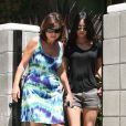 Megan Fox rend visite à une amie, à Los Angeles, le 12 juillet 2009 !