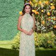 """Lea Michele assiste à la 10ème édition de la soirée """"Veuve Cliquot Polo Classic"""" à Los Angeles, le 5 octobre 2019."""