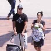 Le beau Josh Holloway et son épouse Yessica : première sortie depuis la naissance de leur petite princesse !