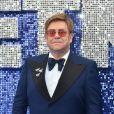 """Sir Elton John à la première du film """"Rocketman"""" au cinéma Odeon Leicester Square à Londres, Royaume Uni, le 20 mai 2019."""