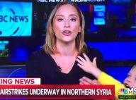 MSNBC : Une journaliste perturbée en direct par son fils