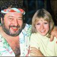 Dorothée et son ami feu Carlos en 1985 : à l'époque, elle est encore sur Antenne 2 et ravit les enfants avec Récré A2