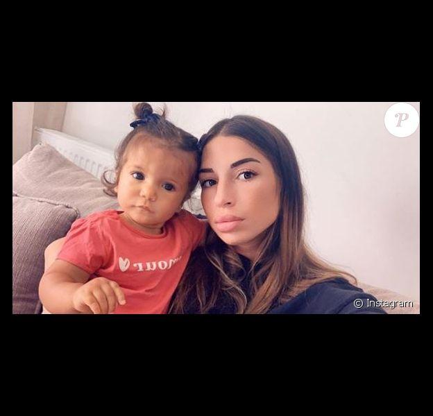 Liam Di Benedetto avec sa fille Joy le 2 septembre 2019.