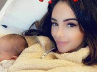 Nabilla maman comblée : Première sieste blottie contre son fils Milann
