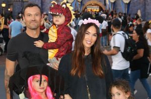 Megan Fox et Brian Austin Green : Rare photo de famille à Disneyland