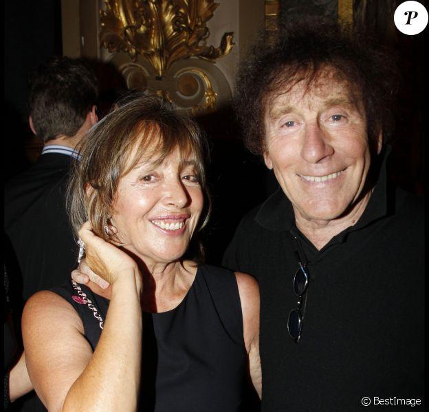 Alain Souchon et sa femme Françoise - 7e gala de l'IFRAD, à Paris, le 21 septembre 2011.