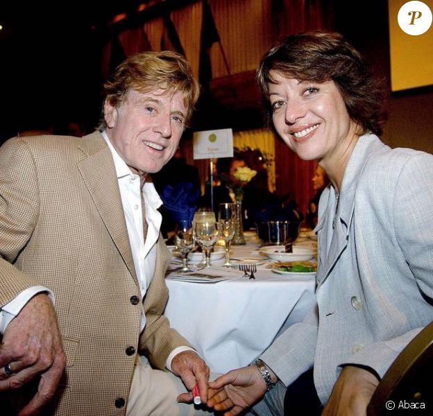Robert Redford et sa nouvelle femme Sybille Szaggars, épousée en juillet 2009.