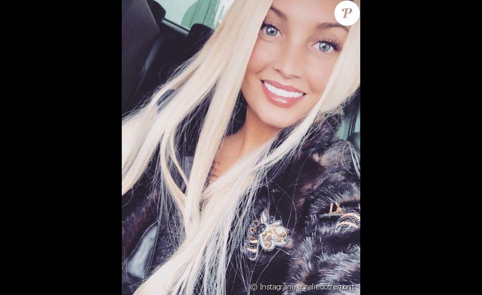 Aurélie Dotremont souriante sur Instagram, 6 décembre 2018