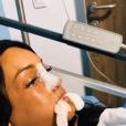 Aurélie Dotremont après sa nouvelle opération chirurgicale, sur Instagram les 16 et 17 octobre 2019.