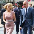 Megyn Kelly et Matt Lauer arrivant au NBC Upfront 2017 au Rockefeller Center à New York, le 15 mai 2017.