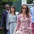 Pippa Middleton à Wimbledon à Londres, le 14 juillet 2019.