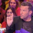 """Benjamin Castaldi dans """"Touche pas à mon poste"""", le 17 octobre 2019, sur C8."""