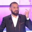 """Cyril Hanouna dans """"Touche pas à mon poste"""", le 17 octobre 2019, sur C8."""