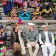 Le prince William, duc de Cambridge, et Kate Middleton, duchesse de Cambridge, vont à la rencontre du peuple Kalash dans la région du Chitral dans le nord-ouest du Pakistan, le 16 octobre 2019.